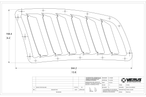 Verus Engineering Hood Louvre Kit Raw - Universal
