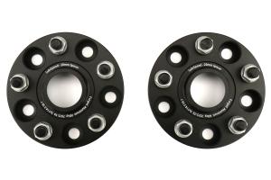 SubiSpeed Wheel Spacers 20mm 5x114.3 Black Pair (Part Number: )