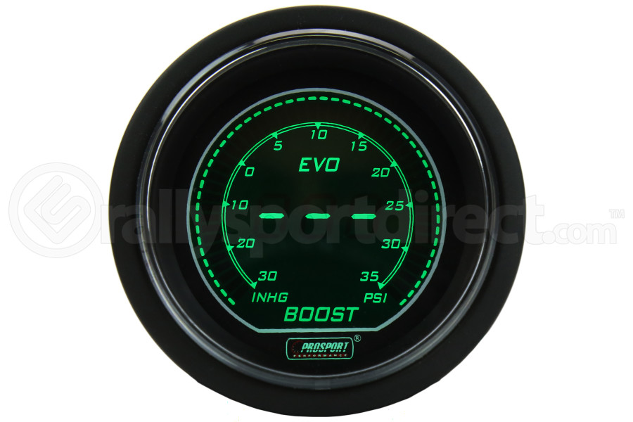 ProSport Evo Boost Gauge (Part Number:216EVOWGBO.PSI)