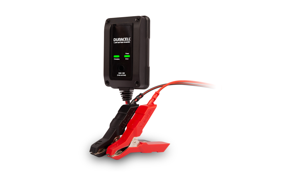 Duracell 1 Amp Battery Charger/Maintainer - Universal