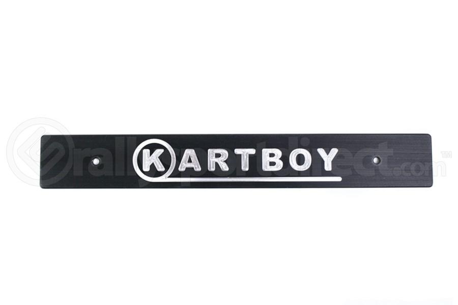 Kartboy Front License Plate Delete Black (Part Number:KB-055-PL-BLK)
