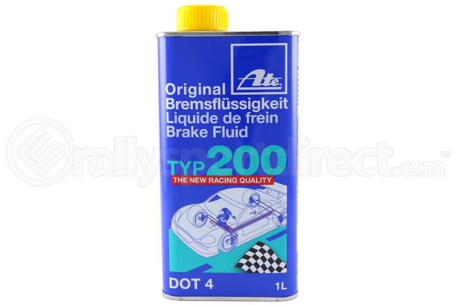 ate type200 brake fluid dot 4 1l 106256 free shipping. Black Bedroom Furniture Sets. Home Design Ideas
