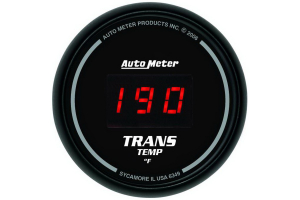 Autometer Sport-Comp Digital Transmission Temperature Gauge Red LED 52mm - Universal
