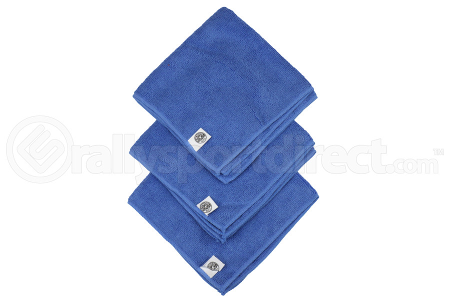 Chemical Guys Ultrafine Microfiber Towels Blue (15inX15in) 3 Pack - Universal