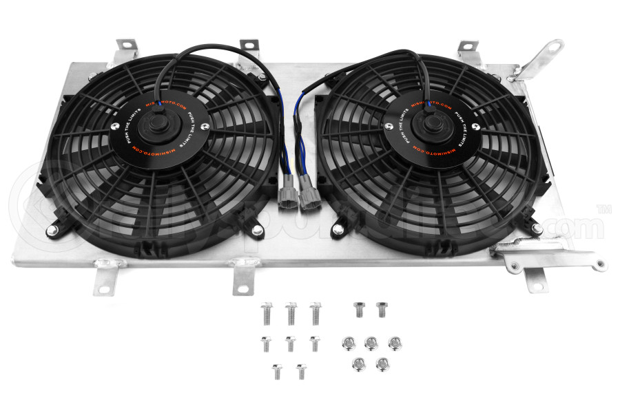 Mishimoto Aluminum Fan Shroud Kit (Part Number:MMFS-WRX-01P)