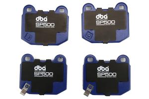 DBA SP500 Rear Brake Pads - Subaru STI 2004-2017 / Mitsubishi Evo / OEM Brembo Applications