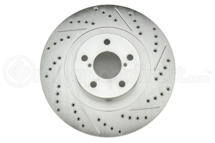 Stoptech C-Tek Sport Drilled and Slotted Rotor Single Front Left (Part Number:227.47021L)