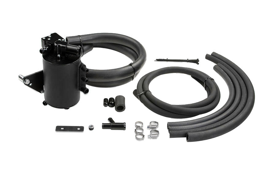 IAG Competition Series Air Oil Separator Black (Part Number:IAG-ENG-7250BK)
