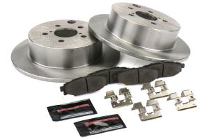 Power Stop Track Day Brake Kit Rear - Subaru Models (inc. 2013-2018 Crosstrek / 2012-2018 Impreza)
