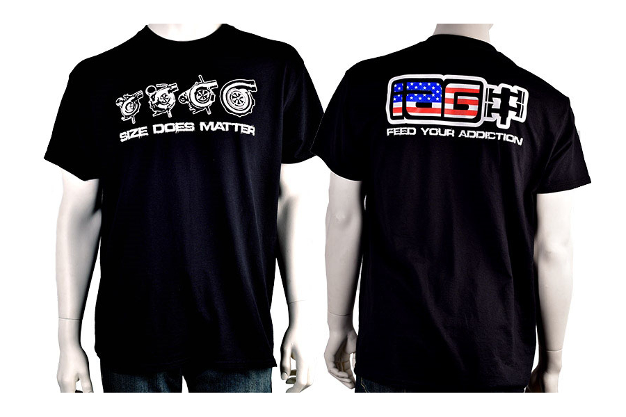 IAG Men's American Flag Size Does Matter T-Shirt - Universal