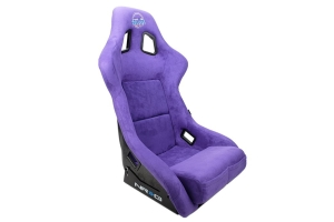 NRG Innovations FRP PRISMA Large Competition Seat Vegan Alcantara Purple - Universal