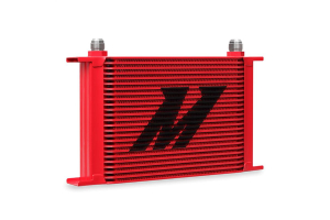 Mishimoto Universal 25 Row Oil Cooler Red - Universal