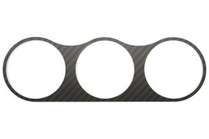 ATI Center Gauge Pod Face Carbon Fiber - Subaru WRX/STi 2002-2007