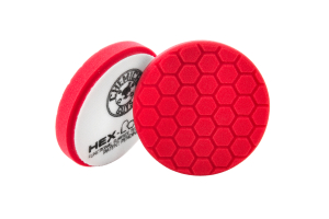 Chemical Guys Hex-Logic Micro-Fine Finishing Pad Red 5.5 Inch - Universal