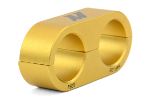 Mishimoto Oil Line Stay -10AN Gold (Part Number: )