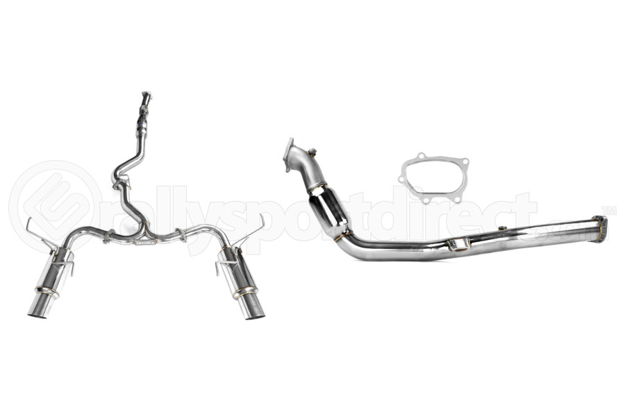 Turbo-Back Exhaust Stainless Steel Tip System (Part Number:SSTBS08-14SED)