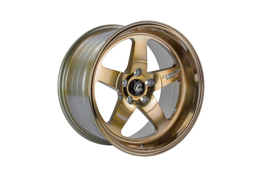 Cosmis Racing XT005R 18x9 +25 5x114.3 Hyper Bronze - Universal