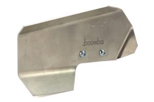 Boomba Racing Brake Cooling Deflectors Natural Aluminum - Subaru STI 2008+