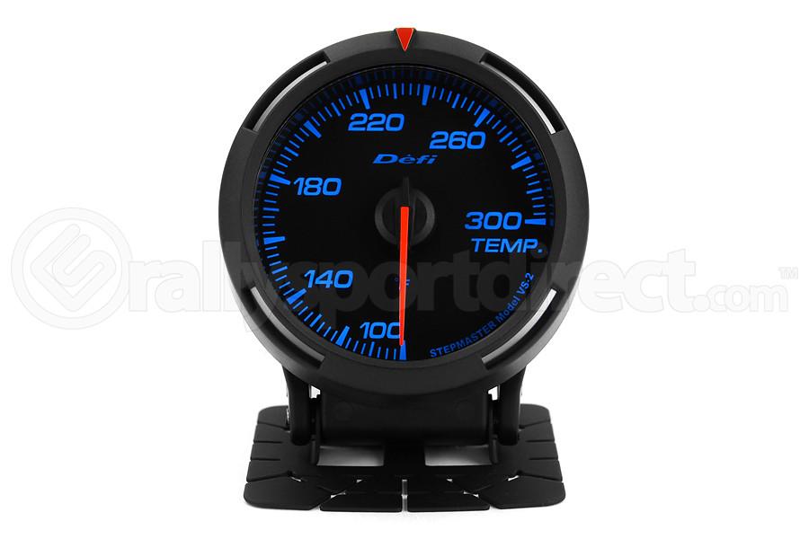 Defi Blue Racer Temperature Gauge Imperial 60mm 100-300F (Part Number:DF11701)