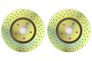 Brembo Sport Brake Rotor Pair Drilled Front ( Part Number: 33S50126)