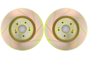 Brembo Sport Brake Rotor Pair Slotted Front ( Part Number: 33S60193)
