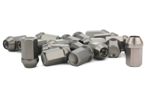 Gorilla Aluminum Closed End Titanium Lug Nuts 12x1.50 (Part Number: 44138TI-20)