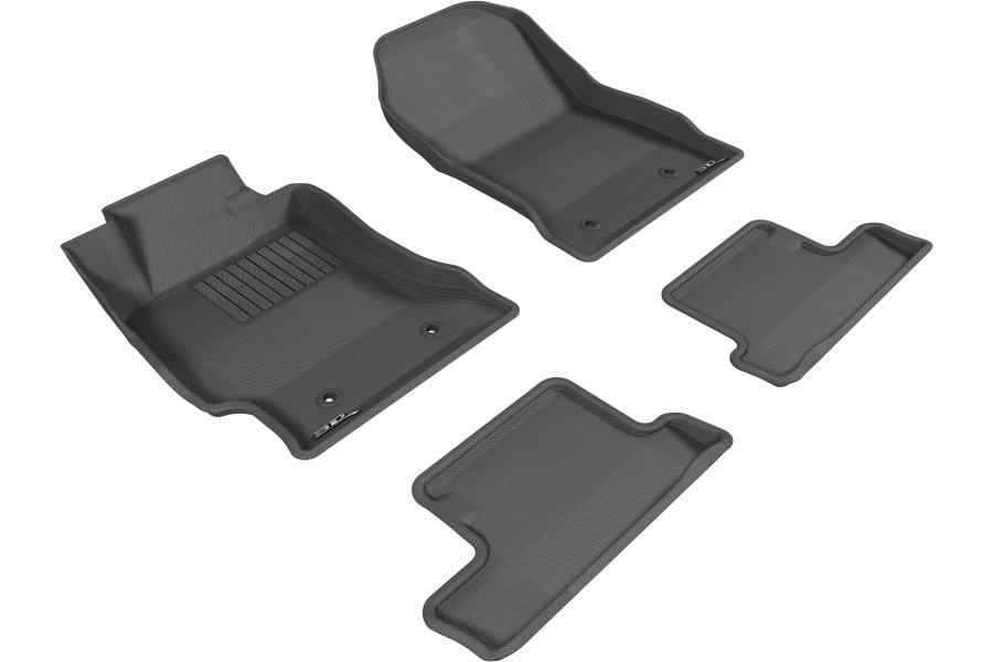 3D MAXpider KAGU Floor Liners - Scion FR-S 2013-2016 / Subaru BRZ 2013+ / Toyota 86 2017+