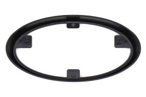 JDM Station Front and Rear Emblem Frames Gloss Black - Subaru WRX / STI 2015 - 2020