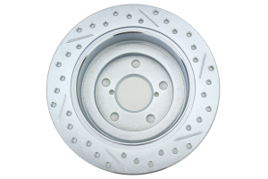 Stoptech C-Tek Sport Drilled and Slotted Rotor Single Rear Right (Part Number: )
