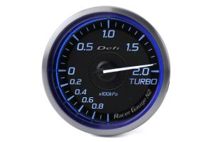 Defi DF Blue Racer N2 Boost Gauge Metric 60mm 2 Bar - Universal