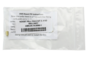 AMS Performance Boost Pill (Part Number: )