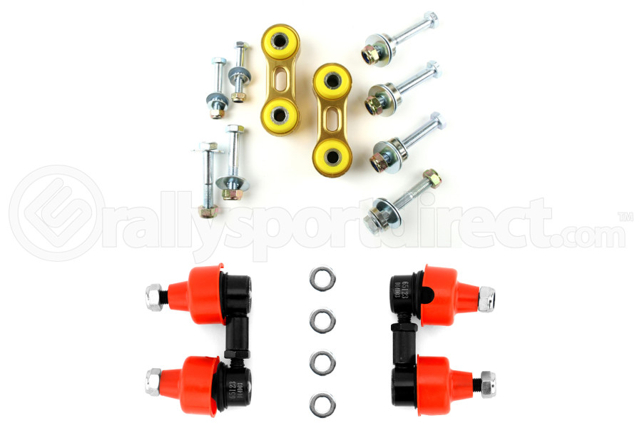 Whiteline Adjustable Ball Socket Front and Rear Endlink Kit (Part Number:KLC32-139)