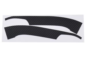 Sticker Fab Lower Mirror Overlays 3D Carbon Fiber - Subaru WRX / STI 2015 - 2020