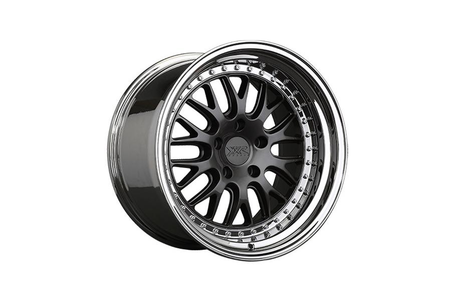 XXR 570 5x114.3 Graphite / Platinum Lip - Universal