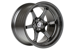 Cosmis Racing Wheels XT-006R 18x9.5 +10 5x114.3 Black w/ Milled Spokes - Universal