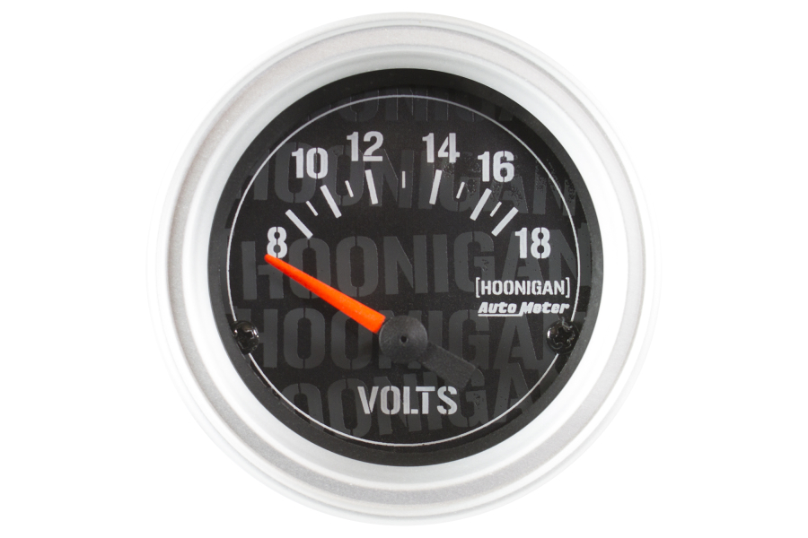 Autometer Hoonigan Voltmeter Gauge 52mm - Universal