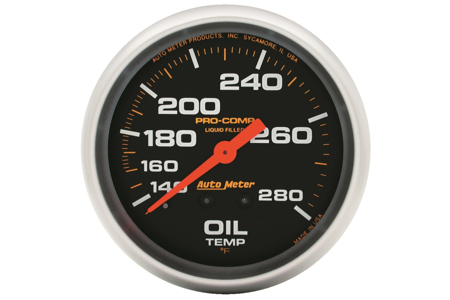 Autometer Pro-Comp Oil Temperature Gauge Mechanical 2-5/8in - Universal