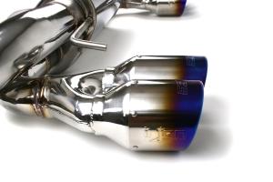 Injen Axle Back Exhaust - Subaru STI Hatchback 2008-2014 / WRX Hatchback 2011-2014