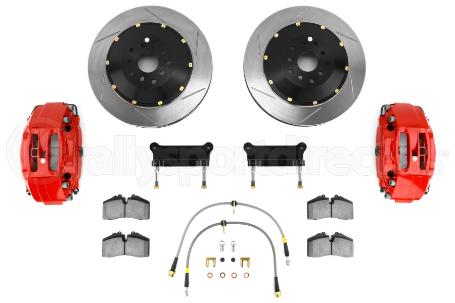 Stoptech ST-40 Big Brake Kit Front 355mm Red Slotted Rotors ( Part Number:STP 83.827.4700.71)