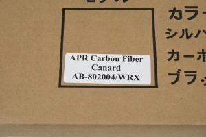 APR Front Bumper Canards (Part Number: )