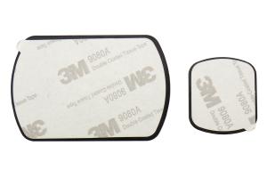 Scosche magicMount Pro Trim Ring/Plate Kit Carbon Fiber - Universal