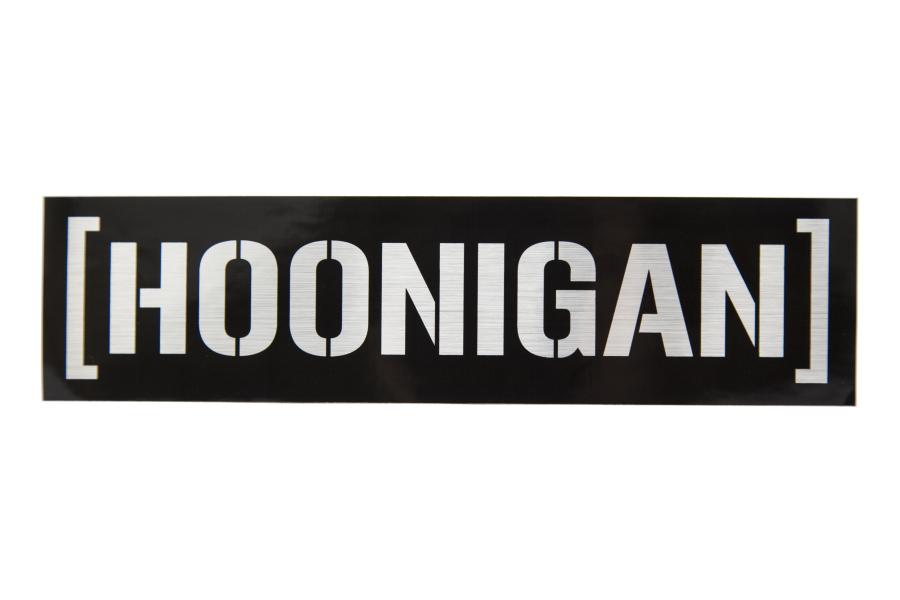 HOONIGAN Censor Bar Sticker Black / Silver - Universal