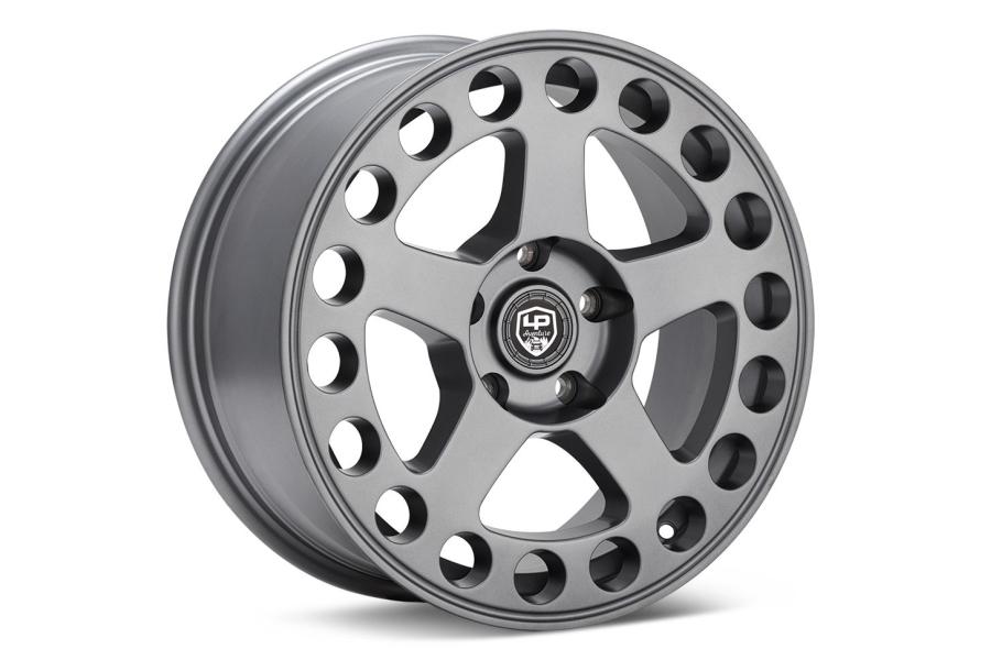 LP Aventure LP5 Wheel 17X8 +20 5x114.3 Matte Grey - Universal