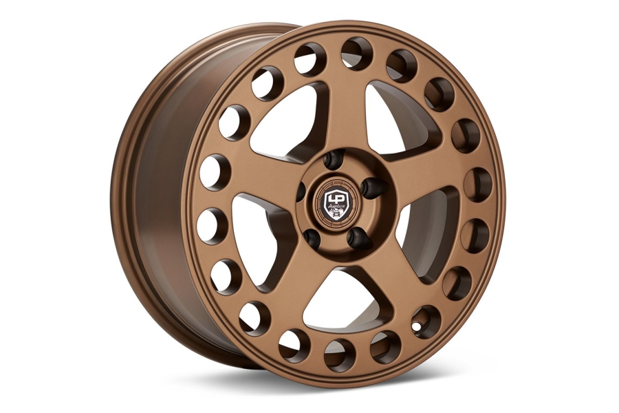 LP Aventure LP5 Wheel 17X8 +20 5x114.3 Bronze - Universal