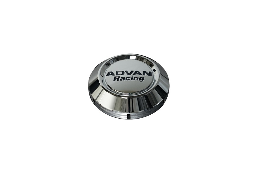 Advan Racing Low Center Cap 63mm Chrome - Universal