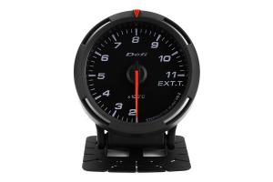 Defi White Racer EGT Exhaust Gas Temperature Gauge Metric 60mm 200-1100C (Part Number: )