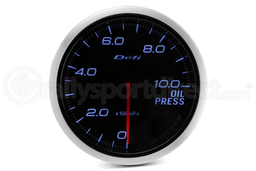 Defi Advance BF White Oil Pressure 1000 kPa 60mm Gauge ( Part Number:DEF1 DF10201)