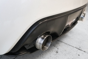 Crawford Gymkhana Two Axle-Back Megaphone Exhaust - Scion FR-S 2013-2016 / Subaru BRZ 2013+ / Toyota 86 2017+