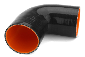 Mishimoto Silicone Elbow 90 Degree 3in Black (Part Number: )
