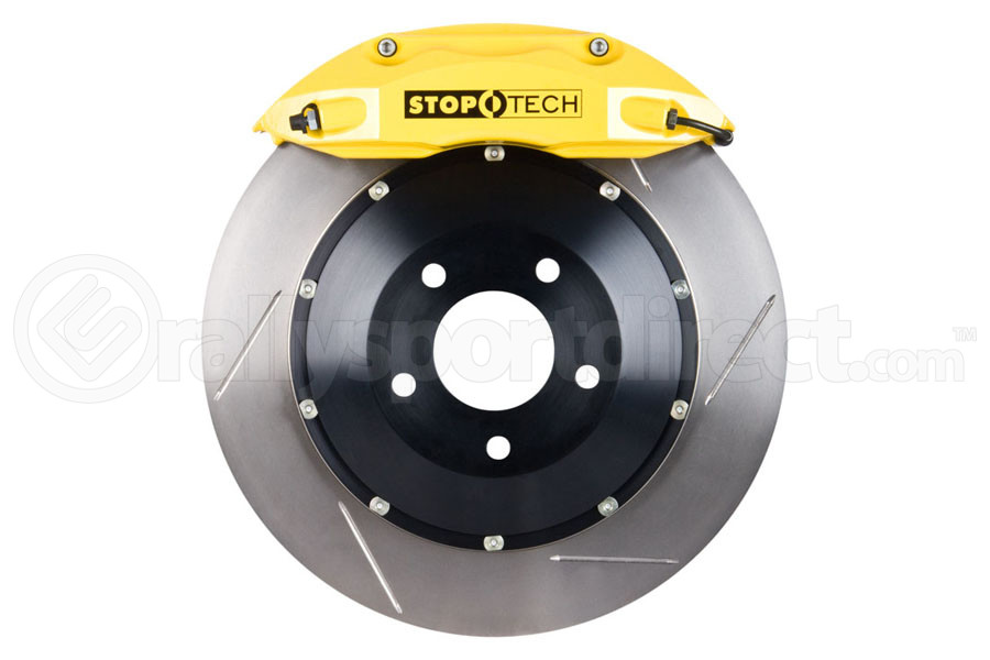 Stoptech ST-40 Big Brake Kit Front 332mm Yellow Slotted Rotors (Part Number:83.839.4600.81)